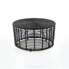 cane coffee table black round wicker coffee table cane coffee table australia