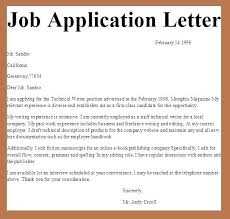 Simple Cover Letter For A Resume Application Job Applying Format ...
