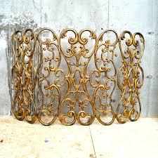 fabulous decorative fireplace screens ornate fireplace screens ornate metal fireplace screen decorative wrought iron fireplace doors
