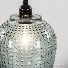 Glazen Hanglamp Berdina Groen Straluma