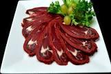 basturma  russian marinated skewered beef