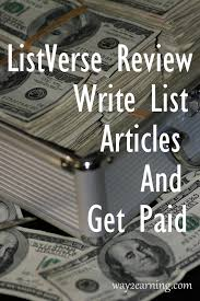 listverse review write list articles and get paid