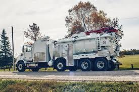 Hydro Excavator Truck Hydrovac Svhx Lightweight For Maximum Payload