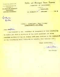 source south dublin libraries digital archive termination of wm dublin blessington steam tramway letter 28 nov 1932 postmistress ticket master jpg