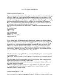 Contoh Proposal Dan Karang Taruna