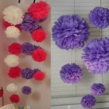 Tissue Balls Party Decorations Cheap Paper Flower Decorations Ideas find Paper Flower 62