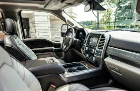 2018 ford f series super duty interior