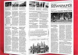 Newspaper Template 27 Psd Vector Eps Png Format