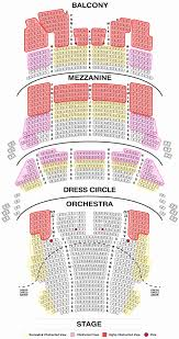 Shubert Seating Chart 47 All Inclusive The Chicago Theater Seating