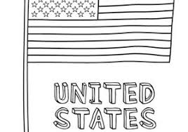 Coloring Page Of The American Flag Free Coloring Sheets