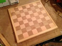 Homemade Wooden Board Games How to Build a Chess and Checkerboard 84