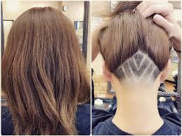 レディースヘアアンダーカット フェード ライン メンズの髪の悩みを
