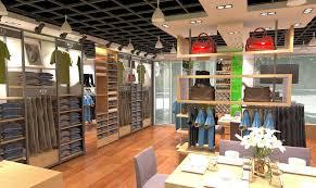 Children's clothing store interior decoration