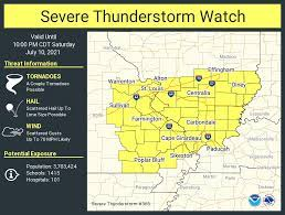 """NWS St. Louis on Twitter: """"A severe ..."""