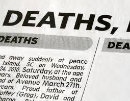 Newspaper Obituary Template Death Notice Templates And Obituary Templates Everplans