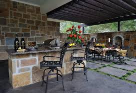 Simple Outdoor Kitchen Outdoor Kitchen Designs Houston Fire Features Outdoor Kitchen
