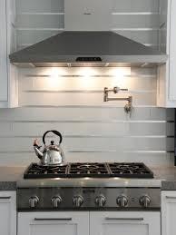 Steel Backsplash Kitchen 20 Stainless Steel Kitchen Backsplashes Subway Tile Backsplash
