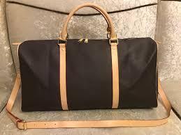 Designer Weekend Bags Womens Designer Duffle Bag Women Travel Bags Weekend Luggage Luxury Designer Travel Bag High Quality Pu Leather Designer L Flower Handbag Womens Handbags