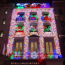 Christmas Lights St Albans 2018 Stella Mccartney Old Bond Street Christmas Lights In