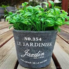 2018 Square Cement Flower Pots Planters Home Decor Plant Pot De Fleur Vase  Ceramic Vase Plant Stand From Benson2014, $5.23 | Dhgate.Com
