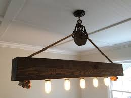 diy wood chandelier best of reclaimed wood beam barn pulley light fixture by chicagolights of