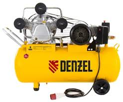 Купить <b>Компрессор масляный Denzel</b> PC 3/100-504, 100 л, 3 кВт в ...