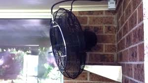 image of outdoor wall mounted waterproof fans mountable decorating small spaces you reviews oscillating mount