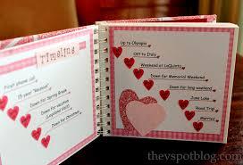 handmade valentine s gift a relationship timeline