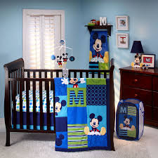 image of mickey mouse bedding set for crib
