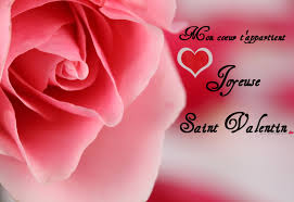 Carte De St Valentin Cartes De Voeux Pour La St Valentin Message Damour