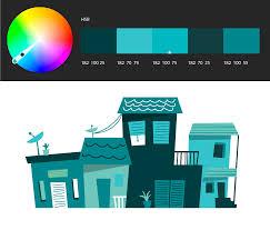 monochromatic color themes