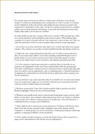 Fresher Resume Headline Examples How To Make A Title Page How To