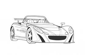Small Picture Lotus 2 Eleven Sportscar Coloring Page Free Online Cars Coloring
