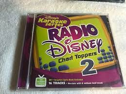 Disneys Karaoke Radio Chart Toppers 2 Cd Free Shipping 50086138173 Ebay