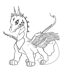 Dragon Coloring Pages Baby Free Coloring Pages Printable