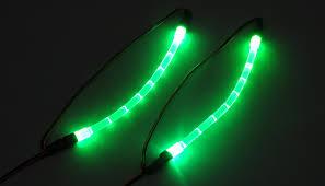 Green Led Light Strips New HobbyPartz Green UnderBody Lighting Strip Kit For RC Cars