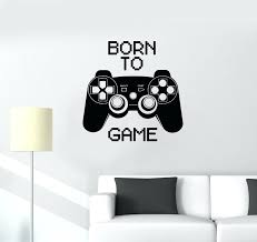 custom vinyl wall decals quotes vinyl decal quote video game computer  joystick gaming teen boys vinyl