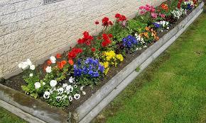 simple small flower garden ideas