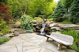 landscaping stone patio natural patios ideas16