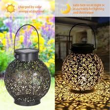 tomshine outdoor solar lantern light