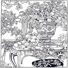 Small Picture Difficult Flower Coloring Pages Coloring Coloring Pages