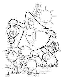 Spring Coloring Pages For Free Free Printable Spring Coloring Sheets