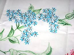 Pillow Case Hand Embroidery Designs Hand Embroidered Pillowcases Free Embroidery Patterns