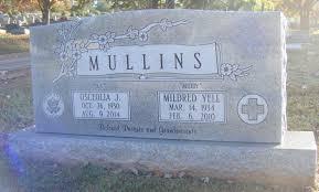 "Osceolia ""O.J."" Mullins (1930-2014) - Find A Grave Memorial"