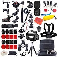 MOUNTDOG <b>Action Camera Accessories</b> Kit for <b>GoPro</b> Hero 7 6 5 4 ...