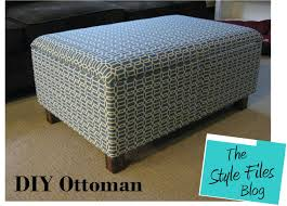 diy storage ottoman.  Ottoman DIY Ottoman Instructions The Style Files Blog At Wwwthestylefiles For Diy Storage U