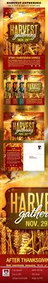 harvest gathering church flyer mailer template the flyer harvest gathering church flyer mailer template photoshop psd prayer fall available