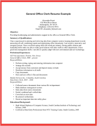 Sample Of General Resume Sample Resume And Free Resume Templates