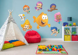 >bubble guppies collection wall decal shop fathead for bubble  bubble guppies collection fathead wall decal