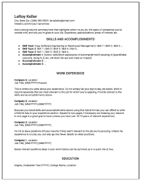 Two Types Of Resumes Why The Hybrid Resume Is The Best Resume Format